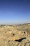 Samaria, a Byzantine wine press on Mount Gerizim