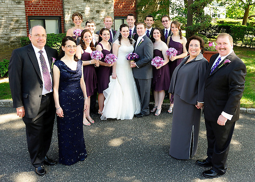 A beautiful Long Island Wedding at East Meadow Jewish Center.