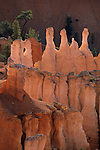 Morning light on hoodoos from Sunset Point, Bryce Canyon National Park, UTAH