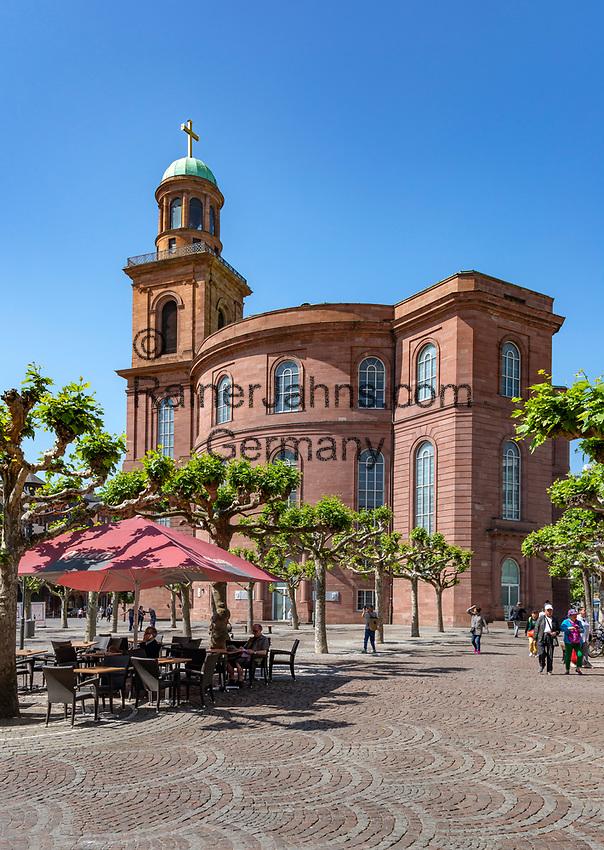 Germany, Hesse, Frankfurt on the Main: St Paul's Church on Pauls's Square   Deutschland, Hessen, Frankfurt am Main: die Frankfurter Paulskirche auf dem Paulsplatz