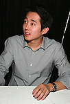 Steven Yeun from The Walking Dead signing at the Amazing Comic Con in Mesa, AZ Saturday January 8, 2011..Photo by AJ Alexander