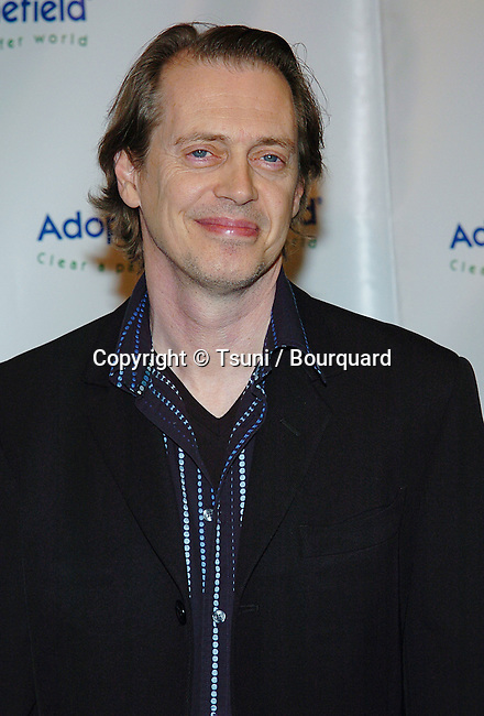 Steve Buscemi arriving at the 4th Annual Benefit Gala for Adopt-A-Minefield at the Century Plaza Hotel in Los Angeles. october 15, 2004.