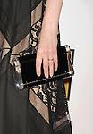 BEVERLY HILLS, CA - JUNE 18: Emily Deschanel (handbag, ring detail) at The Critics' Choice Television Awards at The Beverly Hilton Hotel on June 18, 2012 in Beverly Hills, California.