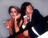 =New York, NY<br />1978 <br />Jerry Hall and Mick Jagger at Studio 54<br />Credit:  Adam Scull-PHOTOlink/MediaPunch