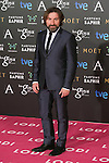 Antonio De La Torre attend the 2015 Goya Awards at Auditorium Hotel, Madrid,  Spain. February 07, 2015.(ALTERPHOTOS/)Carlos Dafonte)