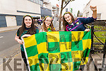 Pictured at the All Ireland Minor Football Final on Sunday last were l-r: Sarah O'Neill (Carlow) Michelle Kealy (Kilkenny) and Roisin O'Neill (Carlow) who were supporting their cousin Daniel O'Brien who was plays with Kerry.