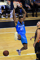 Shawn Long (Breakers) scores during the Australian National Basketball League match between Skycity Breakers and Illawarra Hawks at TSB Bank Arena in Wellington, New Zealand on Thursday, 14 February 2019. Photo: Dave Lintott / lintottphoto.co.nz