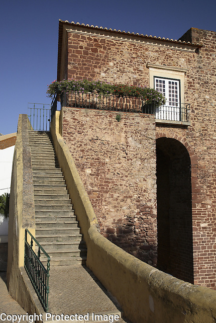 Gate and Walls of the Village, Silves, Algarve, Portugal