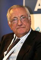 Presentazione dei candidati campani del Nuovo centro destra alle elezioni europee<br /> nella foto Giuseppe Gargani