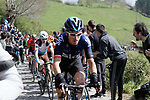 Geraint Thomas (WAL) Team Sky on the Ixua a brutal 20% off road climb during Stage 5 of the Tour of the Basque Country 2019 running 149.8km from Arrigorriaga to Arrate, Spain. 12th April 2019.<br /> Picture: Colin Flockton | Cyclefile<br /> <br /> <br /> All photos usage must carry mandatory copyright credit (© Cyclefile | Colin Flockton)