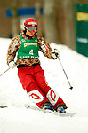 15 January 2005 - Lake Placid, New York, USA - Kari Traa representing Norway, competes in the FIS World Cup Ladies' Moguls Freestyle ski competition, ranking 30th for the day, at Whiteface Mountain, Lake Placid, NY. ..Mandatory Credit: Ed Wolfstein Photo.