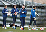 Jim Stewart and his merry band of goalkeepers