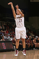 STANFORD, CA - JANUARY 14:  Rosalyn Gold-Onwude of the Stanford Cardinal during Stanford's 80-43 win over the Washington State Cougars on January 14, 2009 at Maples Pavilion in Stanford, California.