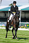 Kai Ruder riding Les Prince Des Bois during day 2 of the dressage phase at the 2012 Land Rover Burghley Horse Trials in Stamford, Lincolnshire,UK.