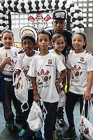 SÃO PAULO, SP, 05.10.2015 - FUTEBOL-CORINTHIANS - Malcom jogador do Corinthians durante entrevista coletiva na Ação do Dia das Crianças, no Parque São Jorge no Tatuapé região leste de São Paulo nesta segunda-feira, 05. (Foto: Marcos Moraes / Brazil Photo Press)