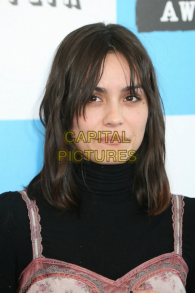 SHANNYN SOSSAMON.2007 Film Independent's Spirit Awards at the Santa Monica Pier, Santa Monica, California, USA,.24 February 2007..portrait headshot.CAP/ADM/BP.©Byron Purvis/AdMedia/Capital Pictures.