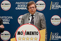 Pierpaolo Sileri<br /> Roma 29/01/2018. Presentazione dei candidati nelle liste uninominali del Movimento 5 Stelle.<br /> Rome January 29th 2018. Presentation of the candidates for Movement 5 Stars.<br /> Foto Samantha Zucchi Insidefoto