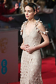 London, UK. 14 February 2016. Actress Rooney Mara. Red carpet arrivals for the 69th EE British Academy Film Awards, BAFTAs, at the Royal Opera House. © Vibrant Pictures/Alamy Live News