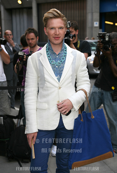 Henry Conway arriving for the Kate Who? Private View, London. 05/07/2010  Picture by: Alexandra Glen / Featureflash
