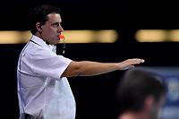 Luis SANTOS (POR) Referee <br />  <br /> Budapest 12/01/2020 Duna Arena <br /> GERMANY (white caps) Vs. ITALY (blue caps)<br /> XXXIV LEN European Water Polo Championships 2020<br /> Photo  © Andrea Staccioli / Deepbluemedia / Insidefoto