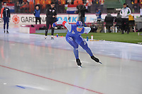 SPEEDSKATING: HAMAR: Vikingskipet, 28-02-2020, ISU World Speed Skating Championships, Sprint, 1000m Men, Henrik Fagerli Rukke (NOR), ©photo Martin de Jong