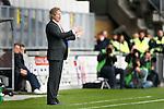 Nederland, Kerkrade, 2 november 2008 .Eredivisie .Seizoen 2008-2009 .Roda JC-Feyenoord (4-0) .Gertjan Verbeek, trainer-coach van Feyenoord geeft aanwijzingen aan zijn spelers.