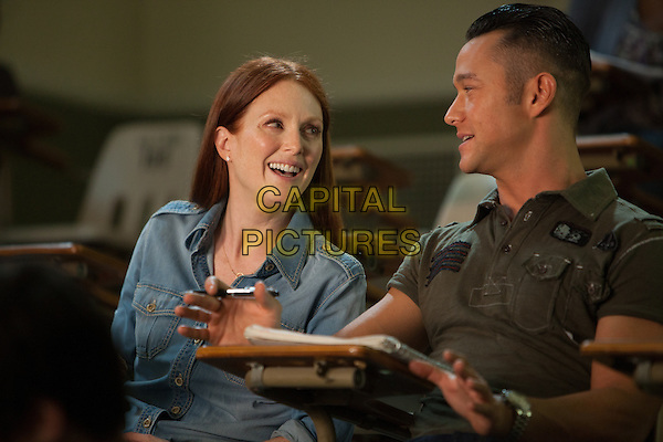 Julianne Moore, Joseph Gordon-Levitt<br /> in Don Jon (2013) <br /> *Filmstill - Editorial Use Only*<br /> CAP/NFS<br /> Image supplied by Capital Pictures