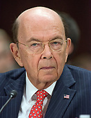 """United States Secretary of Commerce Wilbur Ross testifies before the United States Senate Committee on Commerce, Science, and Transportation on """"Rebuilding Infrastructure in America: Administration Perspectives"""" on Capitol Hill in Washington, DC on Wednesday, March 14, 2018.<br /> Credit: Ron Sachs / CNP"""