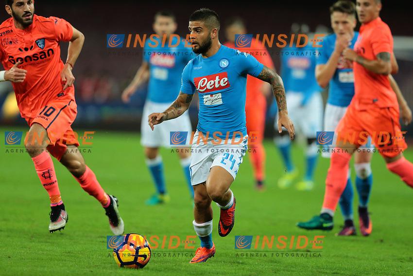 Lorenzo Insigne Napoli,<br /> Napoli 26-10-2016  Stadio San Paolo <br /> Campionato Serie A Napoli - Empoli<br /> Foto Cesare Purini / Insidefoto