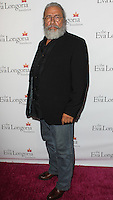 HOLLYWOOD, LOS ANGELES, CA, USA - OCTOBER 09: Edward James Olmos arrives at the Eva Longoria Foundation Dinner held at Beso Restaurant on October 9, 2014 in Hollywood, Los Angeles, California, United States. (Photo by Celebrity Monitor)