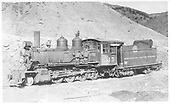 3/4 fireman's-side view of D&amp;RGW #315 in Salida.<br /> D&amp;RGW  Salida, CO