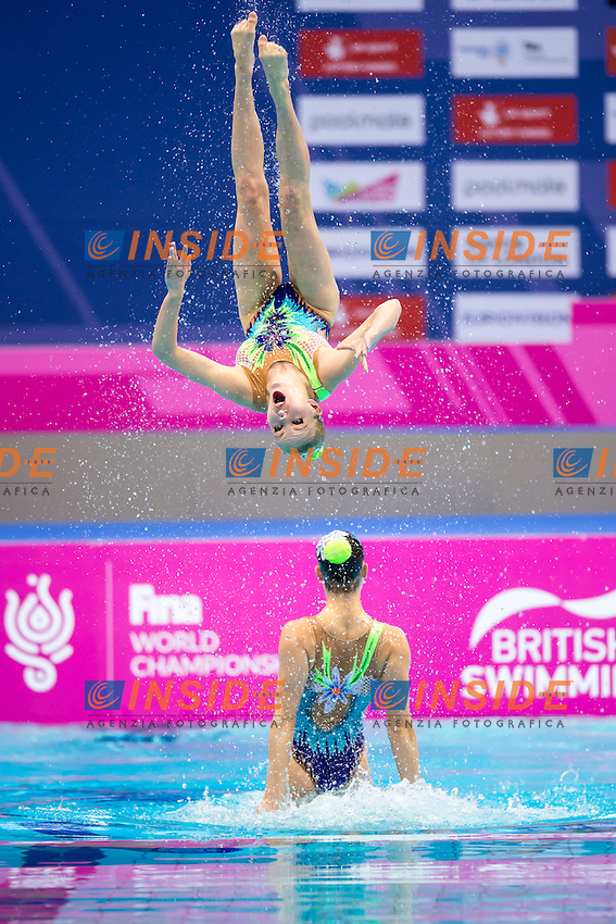 Team BEL Belarus<br /> London, Queen Elizabeth II Olympic Park Pool <br /> LEN 2016 European Aquatics Elite Championships <br /> Team Technical final<br /> Day 01 09-05-2016<br /> Photo Giorgio Scala/Deepbluemedia/Insidefoto