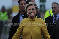 171410 Hillary Clinton at Swansea University Campus