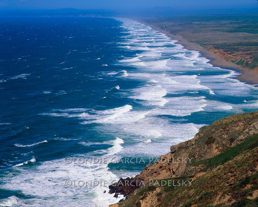Point Reyes National Seashore, Marin County, Pacific Coast of northern California