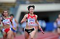 Saori Imai (JPN),..JULY 10, 2011 - Athletics :The 19th Asian Athletics Championships Hyogo/Kobe, Women's 4x100m Relay Final at Kobe Sports Park Stadium, Hyogo ,Japan. (Photo by Jun Tsukida/AFLO SPORT) [0003]