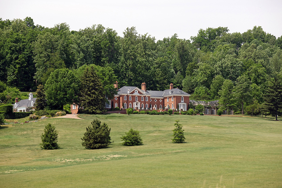 The Albemarle Estate located in Albemarle County, Va. (Credit Image: © Andrew Shurtleff)...