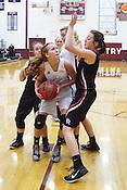 Gentry-Pea Ridge Basketball on Jan. 23, 2015