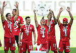 Deutscher Meister 2020, FC Bayern Muenchen v.l. <br />Wolfsburg, 27.06.2020: nph00001: , Fussball Bundesliga, VfL Wolfsburg - FC Bayern Muenchen 0:4<br />Foto: Tim Groothuis/Witters/Pool//via nordphoto<br /> DFL REGULATIONS PROHIBIT ANY USE OF PHOTOGRAPHS AS IMAGE SEQUENCES AND OR QUASI VIDEO<br />EDITORIAL USE ONLY<br />NATIONAL AND INTERNATIONAL NEWS AGENCIES OUT