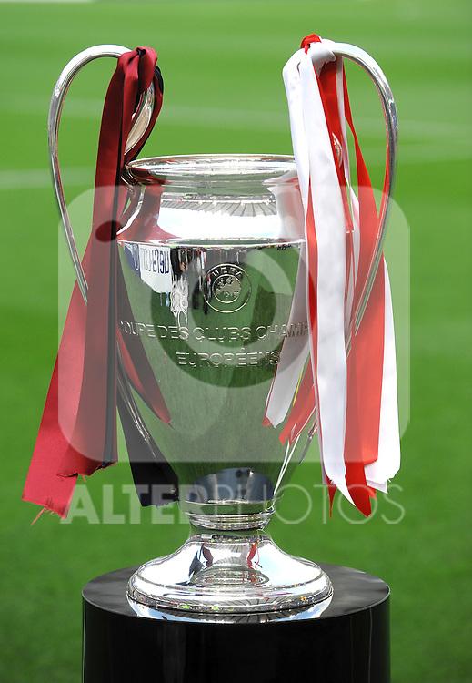 """La coppa dei Campioni.The Cup.Roma 26/5/2009 Stadio """"Olimpico"""".Champions League Finale 2009.Barcelona Manchester United - Barcellona Manchester United.Foto Andrea Staccioli Insidefoto"""