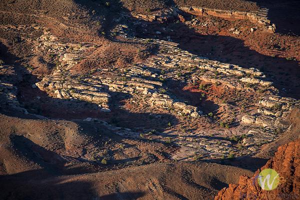 Canyonlands National Park. Utah. 'Dead Horse' outline