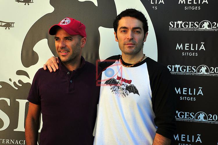 Alexandre Bustillo & Julien Maury. Livide. Sitges Film Festival 2011.