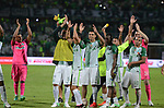 Atlético Nacional ganó como local 1-0 (1-0, en el global) a Millonarios. Semifinal vuelta Liga Águila I-2017.