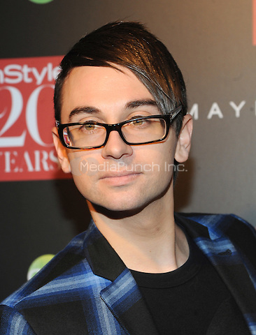 New York, NY-September 8: Christian Siriano attends Instyle 20th Anniversary Party on September 8, 2014 at Diamond Horseshoe at the Paramount Hotel in New York City.  Credit: John Palmer/MediaPunch