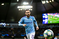 Bernardo Silva of Manchester City during the UEFA Champions League Group C match between Manchester City and Shakhtar Donetsk at the Etihad Stadium on November 26th 2019 in Manchester, England. (Photo by Daniel Chesterton/phcimages.com)