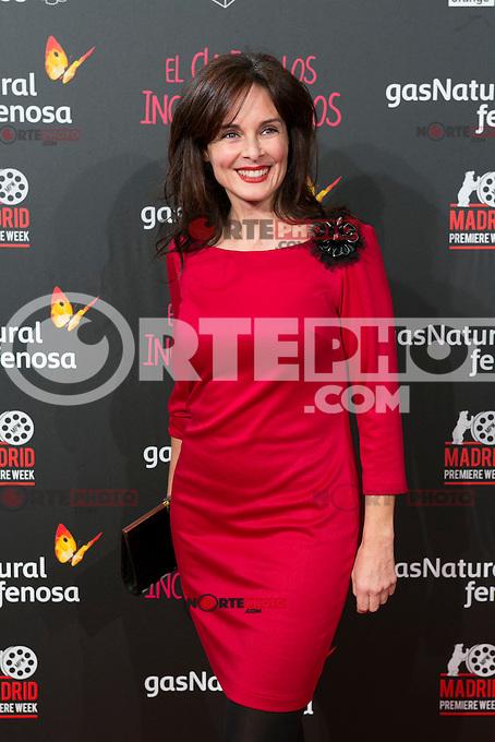 Silvia Marso attend the Premiere of the movie &quot;El club de los incomprendidos&quot; at callao Cinema in Madrid, Spain. December 1, 2014. (ALTERPHOTOS/Carlos Dafonte) /NortePhoto<br /> /NortePhoto