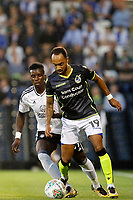 Bristol Rovers' Byron Moore in action during the Carabao Cup match between Fulham and Bristol Rovers at Craven Cottage, London, England on 22 August 2017. Photo by Carlton Myrie.