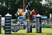 FRA-Marie Hecart (MYSELF DE BREVE) 2012 GBR-Longines Hickstead Royal International Horse Show: THE KING GEORGE V GOLD CUP-3RD