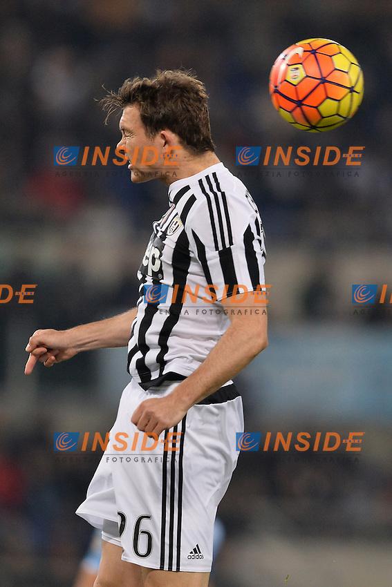 Stephan Lichtsteiner Juventus.<br /> Roma 4-12-2015 Stadio Olimpico, Football Calcio 2015/2016 Serie A Lazio - Juventus. Foto Antonietta Baldassarre / Insidefoto