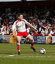 Joel Byrom of Stevenage Borough during the Blue Square Premier match between Stevenage Borough and Forest Green Rovers at the Lamex Stadium, Broadhall Way, Stevenage on Saturday 10th April, 2010 ..© Kevin Coleman 2010
