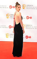 Millie Brady at the Virgin TV British Academy (BAFTA) Television Awards 2018, Royal Festival Hall, Belvedere Road, London, England, UK, on Sunday 13 May 2018.<br /> CAP/CAN<br /> &copy;CAN/Capital Pictures